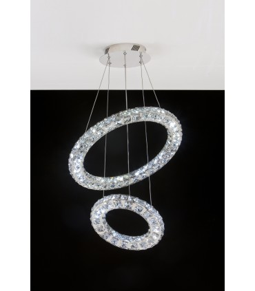 LED SUSPENSION LAMP AFFRALUX NORA3 DOUBLE RING 22023
