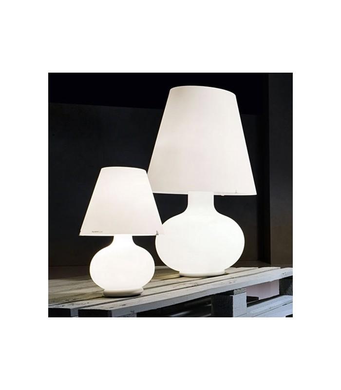 Lampada Da Tavolo In Vetro Soffiato Light4 Itama Candy