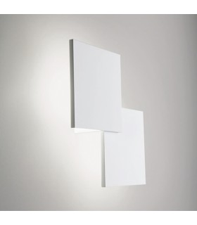 LED WALL LAMP OR CEILING LAMP LINEA LIGHT PUZZLE DOUBLE SQUARE