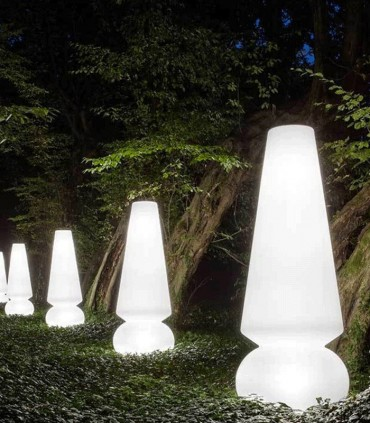 OUTDOOR FLOOR LAMP LINEA LIGHT MARGE FL65 RGB LED