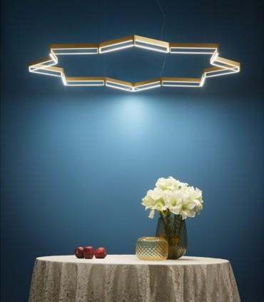 LAMPADA A SOSPENSIONE LED LIGHT4 ITAMA FRAME STELLA