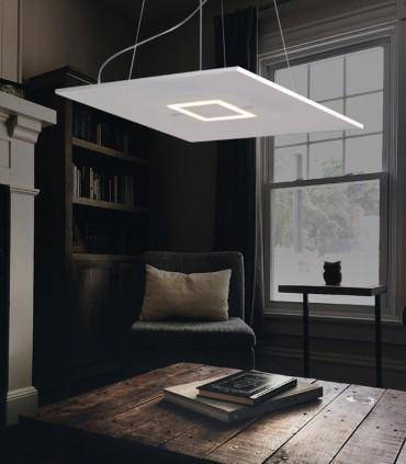 LED SUSPENSION LAMP CATTANEO BIQUADRO 879/60S