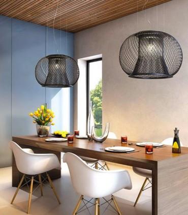 SUSPENSION LAMP OR CEILING LAMP METALLUX IMPOSSIBLE E27