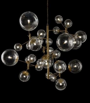 SUSPENSION LAMP METALLUX GLOBAL SP