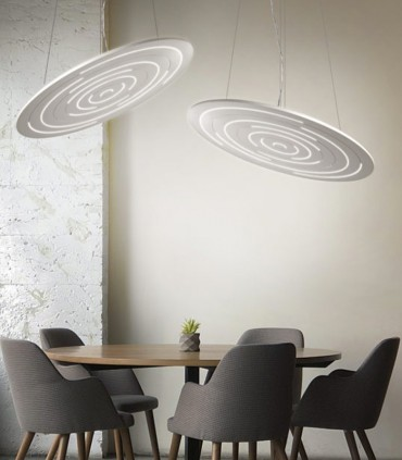 LED SUSPENSION LAMP CATTANEO DINAMICA 896/120S