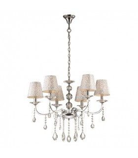 CHANDELIER IDEAL LUX PANTHEON SP6