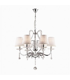 CLASSIC CHANDELIER IDEAL LUX SENIX SP6