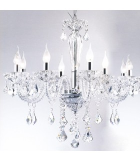 CLASSIC SUSPENSION CHANDELIER IDEAL LUX TIEPOLO