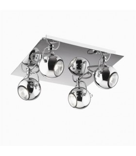 CEILING LAMP IDEAL LUX LUNARE PL4